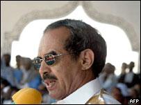 Deposed President Maaouiya Ould Sid Ahmed Taya