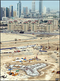 Foundations of Burj Dubai