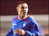 Rangers striker Bajram Fetai