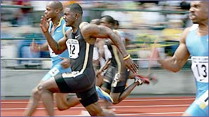 Justin Gatlin shows you how to sprint faster