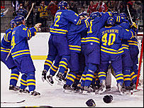 Sweden came from 1-0 down against Finland