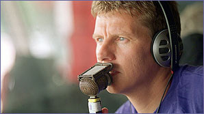 Steve Cram gives you a tour in the BBC commentary box