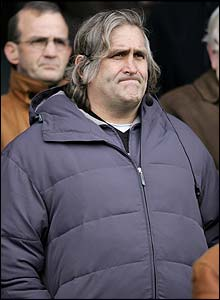 The stand-in Wales coach looks bemused