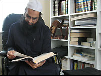 Maulana Saeed, an Imam in Preston