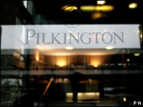 Pilkington sign