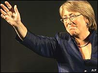Michelle Bachelet, Presidente de Chile.
