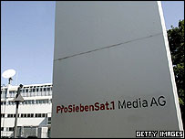 ProseibenSat1.Media head office in Munich