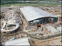 Terminal Five building work