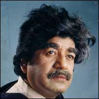 Jatra actor playing Saddam Hussain