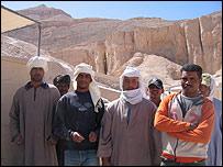 Obreros egipcios