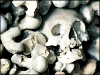 Spitalfields Market where skeletons from the Great Plague were discovered (BBC)
