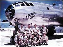 The Enola Gay crew