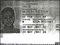 Passport details mistakenly released by Pakistan of the wrong Hasib Hussain
