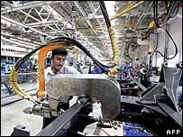 Indian autoworker