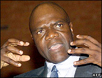 Arthur Mutambara, the new leader of one faction of the Movement for Democratic Change