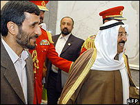 Mahmoud Ahmadinejad in Kuwait
