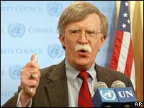 The US Ambassador to the UN, John Bolton. File photo