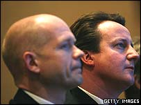 William Hague, David Cameron