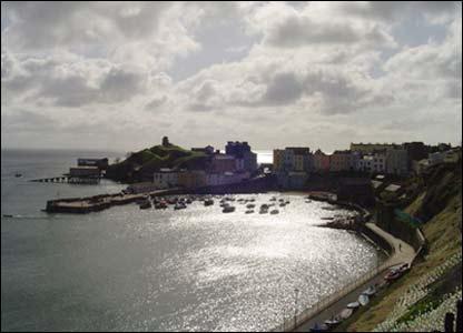 Richard Bridge from Birmingham captured this view of Tenby harbour