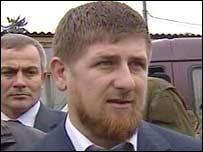 Chechen Prime Minister Ramzan Kadyrov