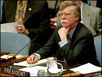 John Bolton, embajador de EE.UU. ante la ONU