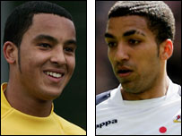 Theo Walcott (left) and Aaron Lennon