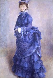 Renoir's La Parisienne (picture: National Museum of Wales)