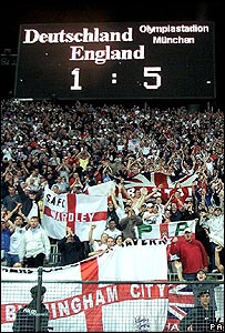 Scoreboard in Munich 2001