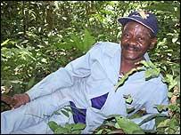 El jefe Arweh Richard
