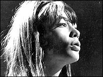 Francoise Hardy, actress and singer