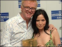 Chris Evans and Andrea Corr