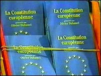 Copies of the EU Constitution