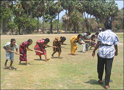 Women training under the LTTE in rural areas of eastern Sri Lanka