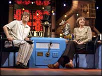Linda Smith and Paul Merton on BBC 2's Room 101