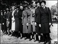 Women serving in the armed forces in World War II
