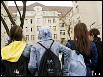 German pupils. File photo