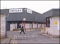 Thales plant in Taunton