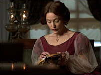 Gillian Anderson, one of the stars of Bleak House