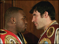 Jeff Lacy and Joe Calzaghe