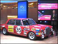 Mercedes 300 SEL racing car