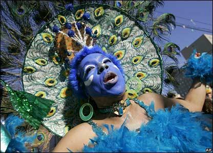 Michelle Levine dances in New Orleans