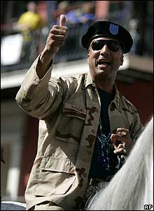 Mayor Ray Nagin at the carnival