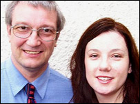 Blaenau Gwent Lib Dem candidates Steve Bard and Amy Kitcher