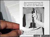 Oscars ballots