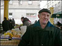 Market trader Esad Pozder