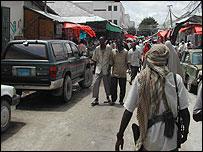 Bakara market in Mogadishu