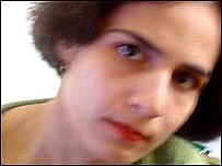 Mahtab, estudiante iraní