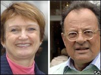 Tessa Jowell and David Mills