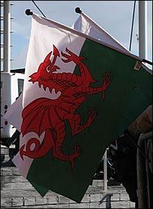 The Senedd was opened on St David's day