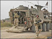 Australian troops in Iraq - archive picture